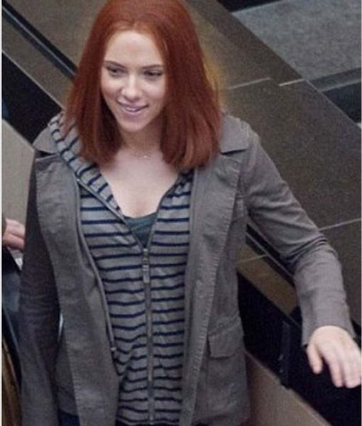 Captain America The Winter Soldier Natasha Romanoff Jacket