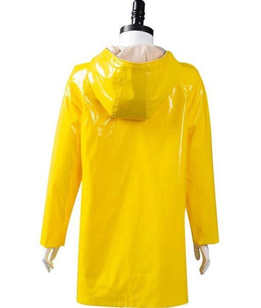 Coraline Yellow Mid-length Coat