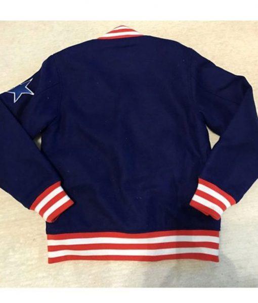 Cowboys Atmos Varsity Blue Jacket