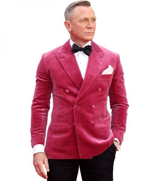 Daniel Craig Pink Tuxedo
