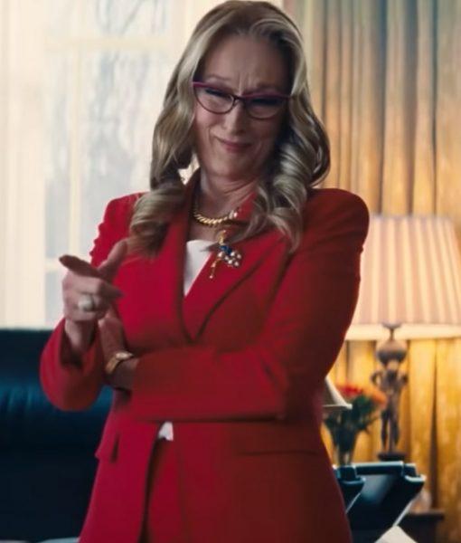 Don't Look Up 2021 President Janie Orlean Blazer