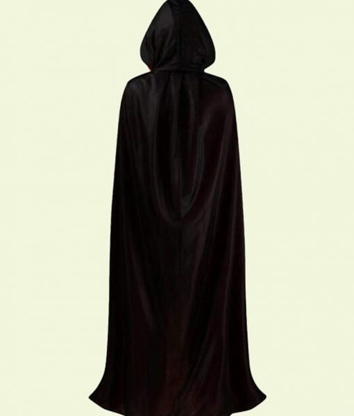 Halloween Dracula Black Cloak