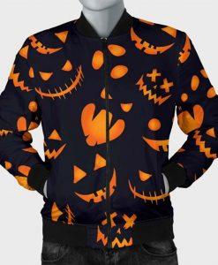 Halloween Pattern Pumpkins Jacket