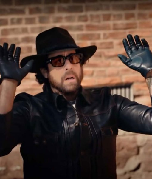 Harry Keshegian Black Leather Jacket
