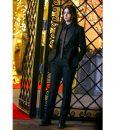 Hawkeye 2021 Hailee Steinfeld Black Tuxedo Suit