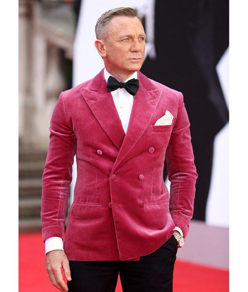 James Bond Pink Tuxedo