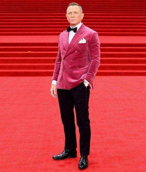 Daniel Craig Pink Jacket