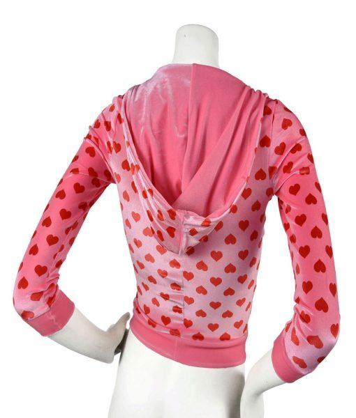 Jennifer's Body Heart Pink Hoodie
