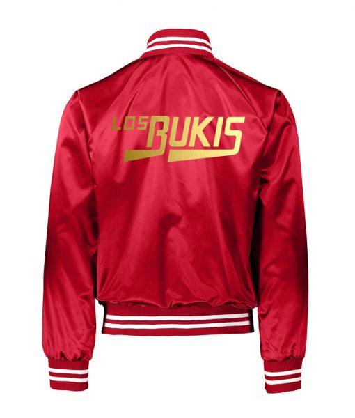 LOS BUKIS Satin Red Jacket