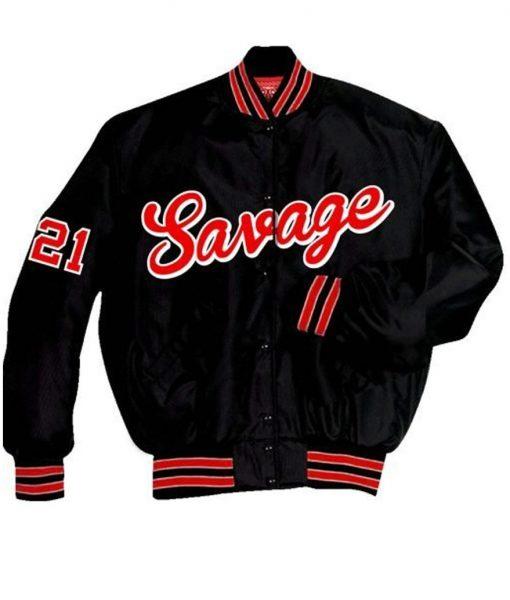 Men's 21 Savage Varsity Jacket