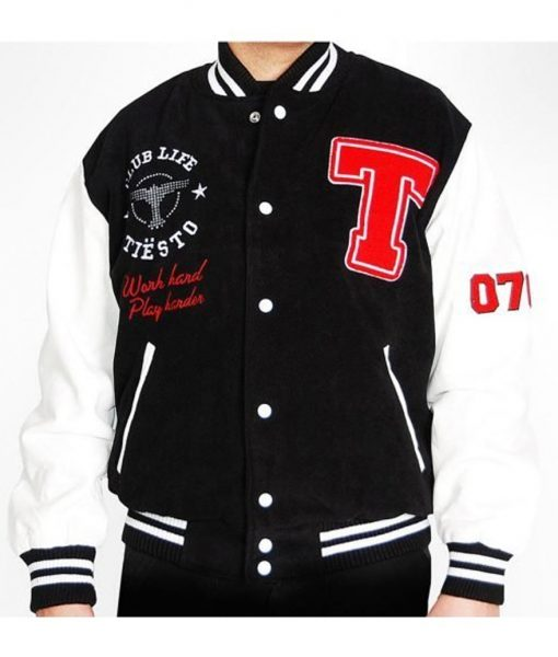 Men's Club Life Tiesto Varsity Jacket