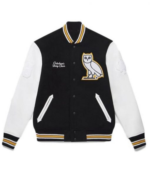 Mens OVO Omega Varsity Jacket