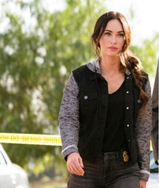 Midnight In The Switchgrass Megan Fox Denim Jacket