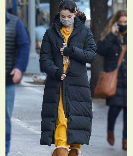 Only Murders In The Building Mabel Long Puffer Coat