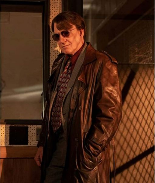 Only Murders in the Building Steve Martin Brown Coat