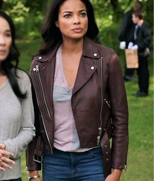 Redemption in Cherry Springs Rochelle Aytes Leather Jacket