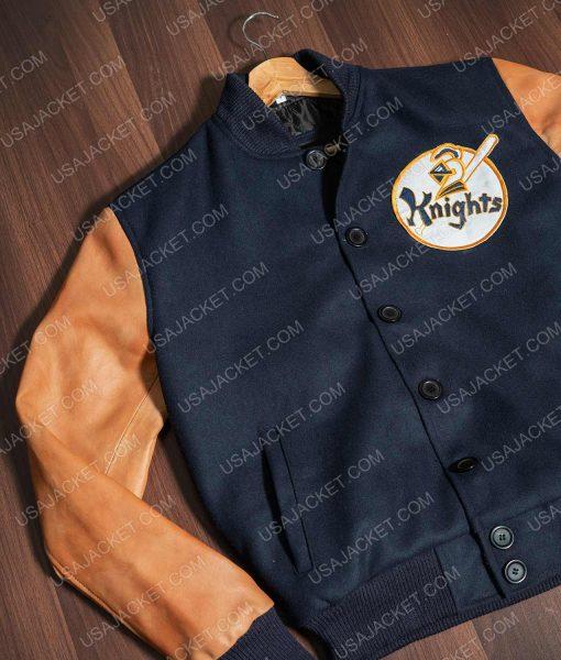 Robert Redford The Natural Roy Hobbs Letterman Jacket
