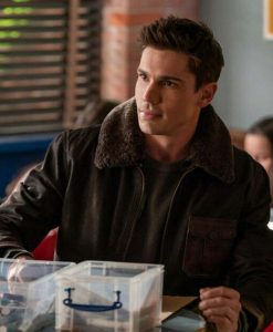 Roswell, New Mexico S03 Gregory Manes Leather Jacket