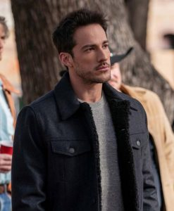 Roswell, New Mexico S03 Kyle Valenti Black Cotton Jacket