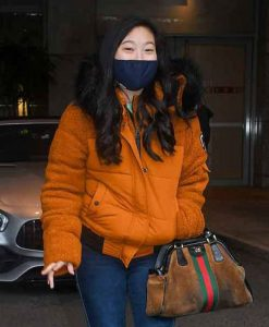 Shang-Chi And The Legend Of The Ten Rings Awkwafina Orange Jacket