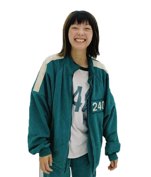 Squid Game Participants Green Track Jacket