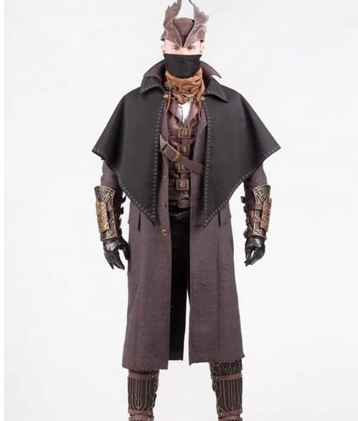 Steampunk Mackintosh Cosplay Trench Coat