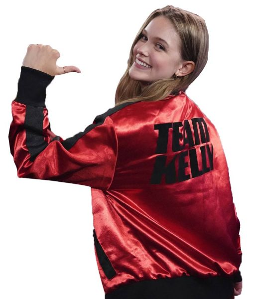 Team Kelly Red Satin Jacket