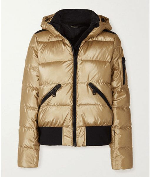 Ted Lasso Keeley's Puffer Jacket