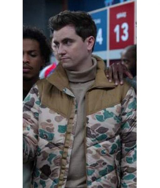 Ted Lasso S02 Richard Puffer Jacket