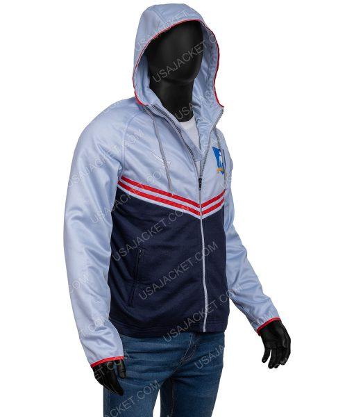 Track Hooded Jacket