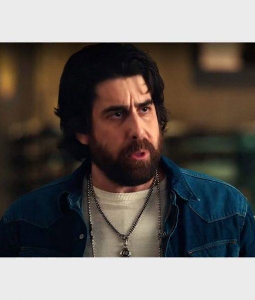 The Equalizer S02 Harry Keshegian Denim Jacket