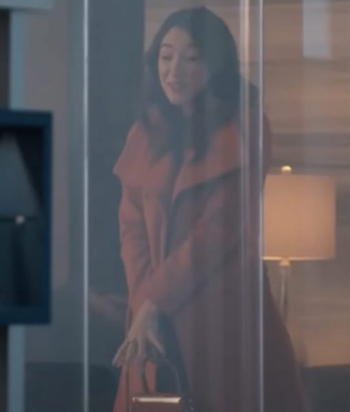 The Voyeurs 2021 Natasha Liu Bordizzo Coat