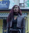 Titans S03 Kory Anders Black Leather Jacket