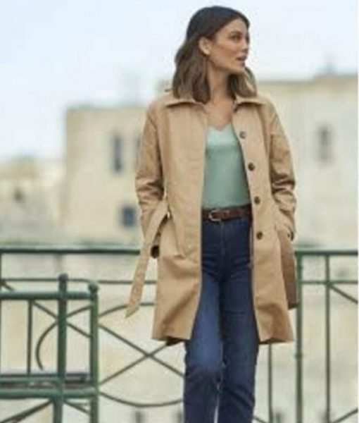 To Catch a Spy Nathalie kelley Trench Coat