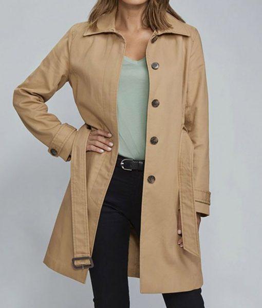 To Catch a Spy Nathalie kelley Coat