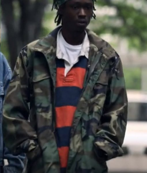 Wu-Tang An American Saga Ashton Sanders Zip Camo Jacket