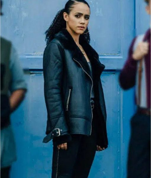 Army of Thieves Gwendoline Leather Jacket