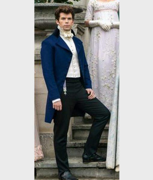 Bridgerton Colin Bridgerton Blue Tailcoat