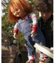 Chucky Blue Multi Romper