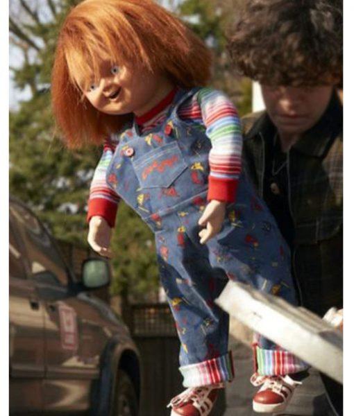 Chucky Blue Romper