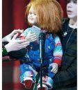 Chucky Denim Romper