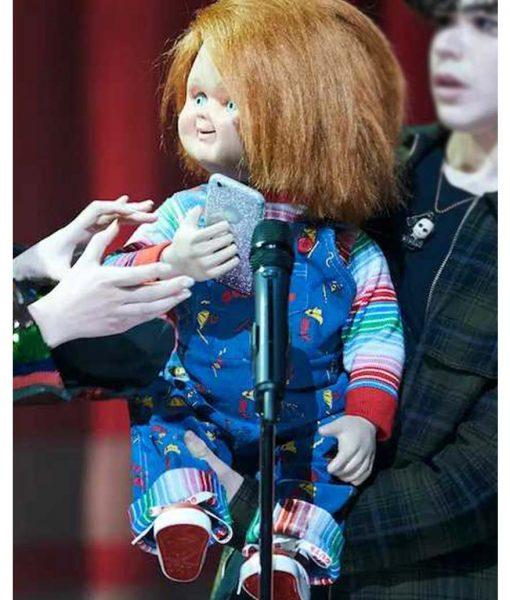 Chucky Blue Doll Romper