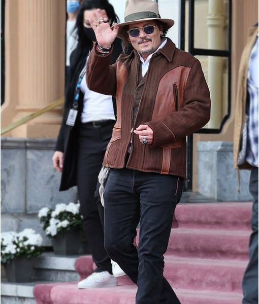 San Sebastián Film Festival Johnny Depp Brown Jacket