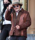 San Sebastián Film Festival Johnny Depp Men Jacket