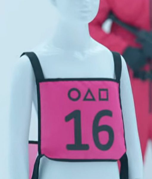Squid Game Pink Vest