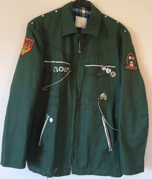 The Mighty Boosh Vince Noir Green Jacket