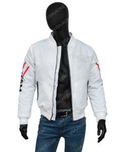 Tokyo Revengers Walhalla White Bomber Jacket