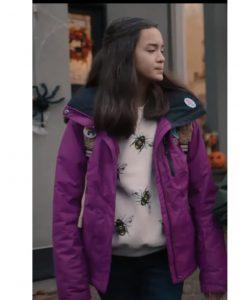 Under Wraps Amy Purple Jacket