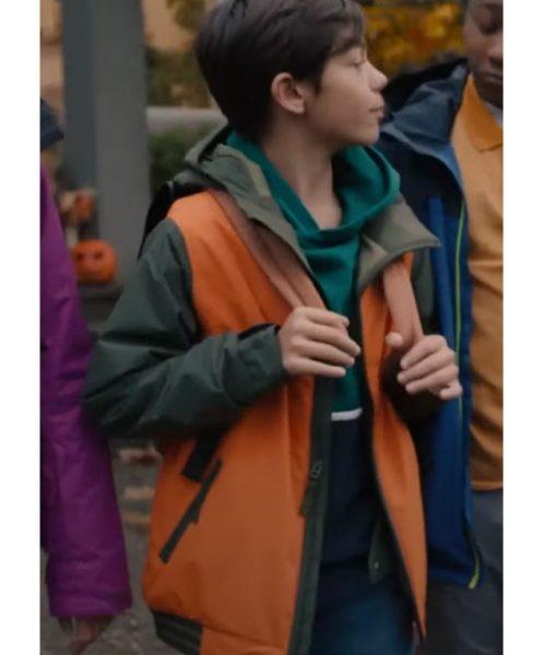 Under Wraps Marshall Orange Jacket